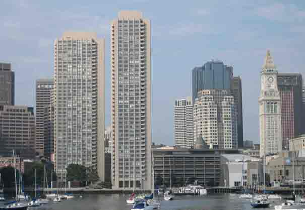 Bay View of Harbor Towers